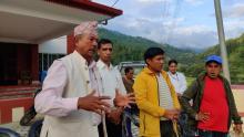 अध्यक्ष श्री रामकृष्ण थापा द्वारा बोयर बोका व्यवसायको बारे विचार राख्नुहुदै